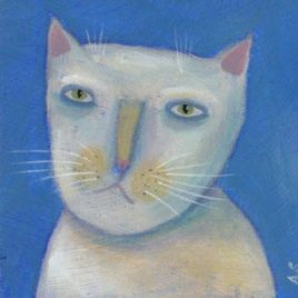 Buttermilk – Original Cat Painting