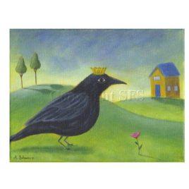 Fairy Tale Crow Print