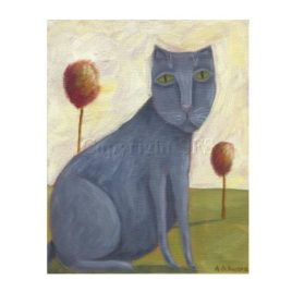 Mellow – Cat Print