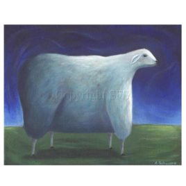 Night Sheep – Art Print