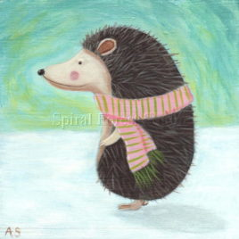 Winter Hedgehog – Print