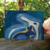 mystical painting, archetype art, spiritual rabbit
