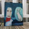 outsider art painting spiritual