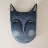 blue cat paper mache