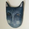blue cat folk art