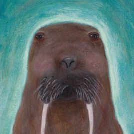 wise walrus painting