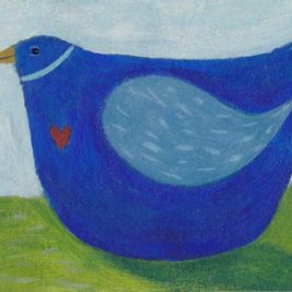 full of love aceo painting